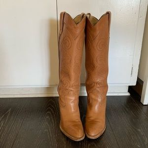 Women's Frye vintage cowboy boots Guc size 7